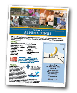 alpenavillage sales flier