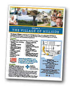 hillside sales sheet