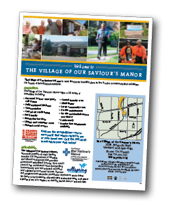 oursavioursmanor flyer